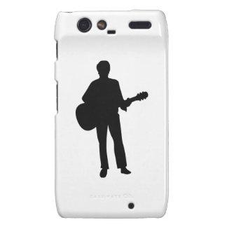 Concert musician guitar motorola droid RAZR cases