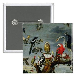 Concert of Birds Button