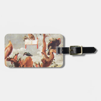 Concert Of Birds by Frans Snyders Bag Tag