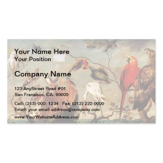 Concert of Birds by Frans Snyders Business Card Templates