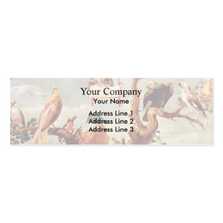 Concert Of Birds by Frans Snyders Business Card Template