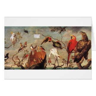 Concert of Birds by Frans Snyders Card