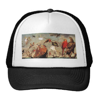 Concert of Birds by Frans Snyders Hat