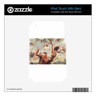 Concert Of Birds by Frans Snyders iPod Touch 4G Decal