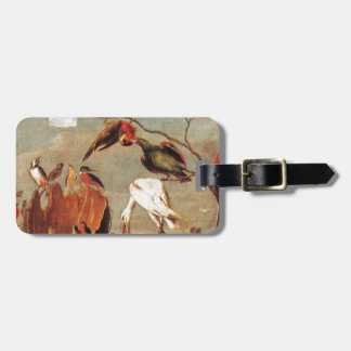 Concert of Birds by Frans Snyders Luggage Tag
