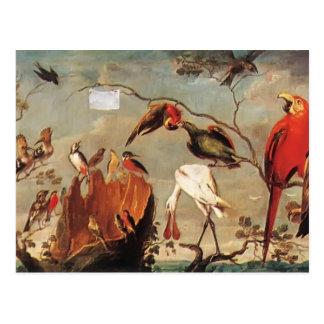 Concert of Birds by Frans Snyders Postcard