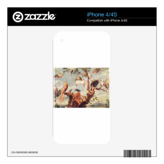 Concert Of Birds by Frans Snyders Skins For iPhone 4S