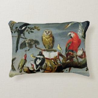 Concert of Birds Decorative Pillow