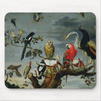 Concert of Birds Mouse Pad