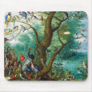 Concert of Birds Mouse Pads