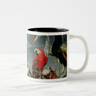 Concert of Birds Two-Tone Coffee Mug