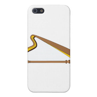 Concert Pedal Harp Graphic Design Case For iPhone 5