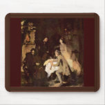 Concert Study By Leibl Wilhelm (Best Quality) Mouse Pad