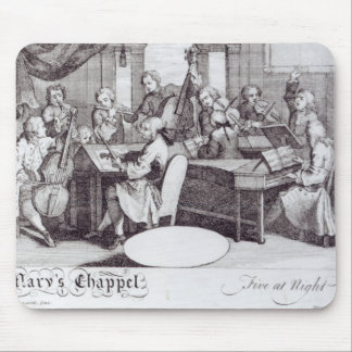 Concert Ticket for Mary's Chapel Mouse Pad