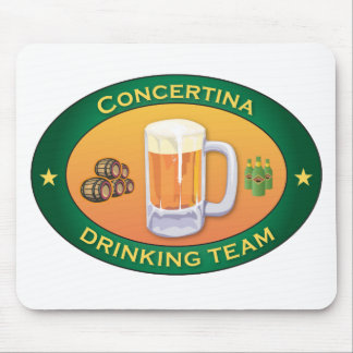 Concertina Drinking Team Mouse Pad