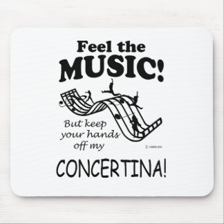 Concertina Feel The Music Mouse Pad