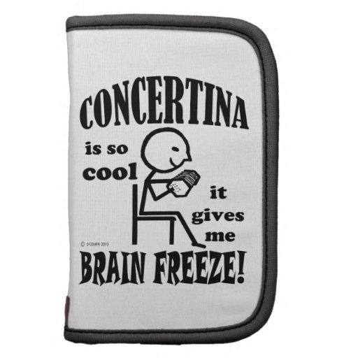 Concertina, helada del cerebro planificadores