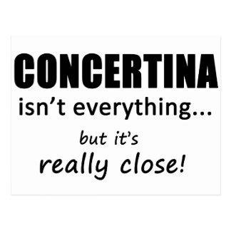 Concertina Isn't Everything Postcards