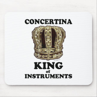 Concertina King of Instruments Mouse Pad