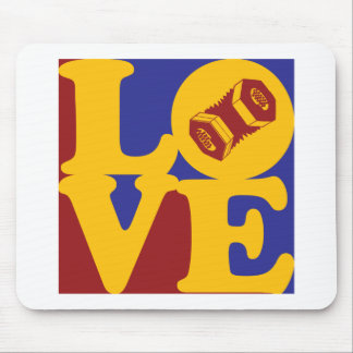Concertina Love Mouse Pad