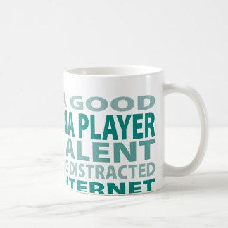 Concertina Player 3% Talent Coffee Mug