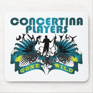 Concertina Players Gone Wild Mouse Pad