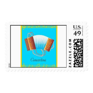 concertina stamp