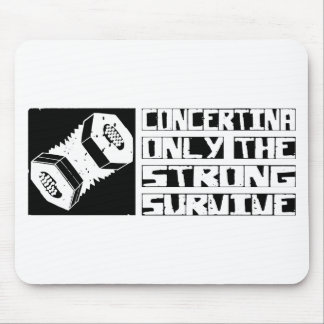 Concertina Survive Mouse Pad