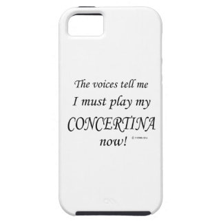 Concertina Voices Say Must Play iPhone SE/5/5s Case