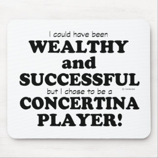Concertina Wealthy & Successful Mouse Pad