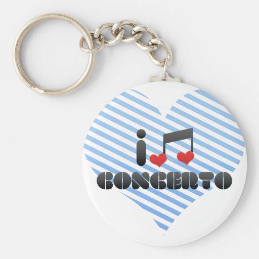 Concerto Keychain
