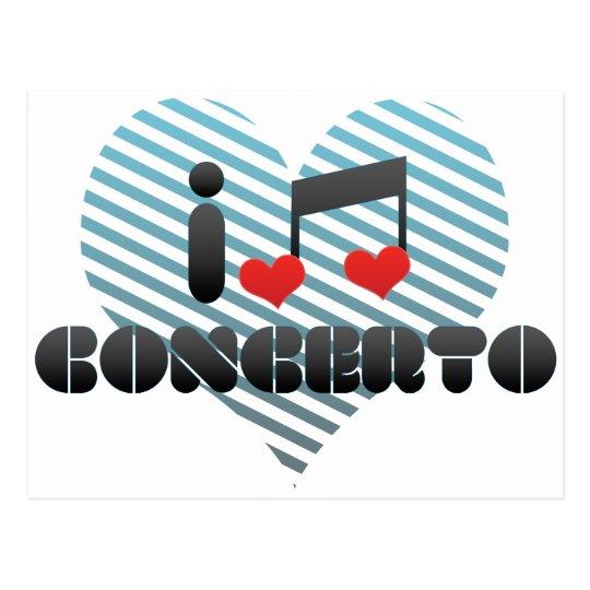 Concerto Postcard