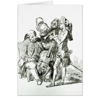 Concerto Spirituale, published 23rd March 1773 Card