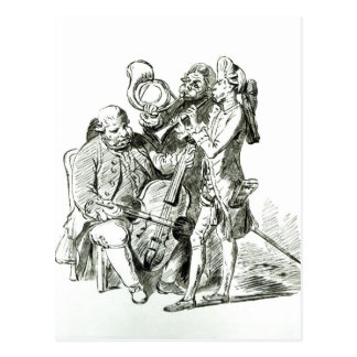 Concerto Spirituale, published 23rd March 1773 Postcard