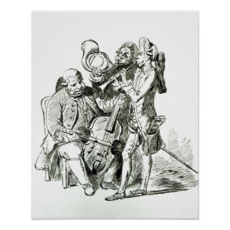 Concerto Spirituale, published 23rd March 1773 Poster