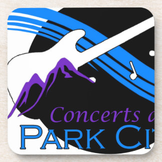 concerts at park city beverage coaster