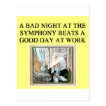 concerts beat work post card