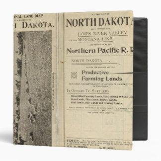 """Concesión de tierras de Dakota del Norte Carpeta 1 1/2"""""""