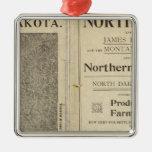 Concesión de tierras de Dakota del Norte Adornos De Navidad