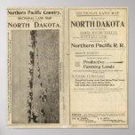 Concesión de tierras de Dakota del Norte Impresiones