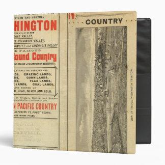 """Concesión de tierras Washington y Oregon Carpeta 1 1/2"""""""