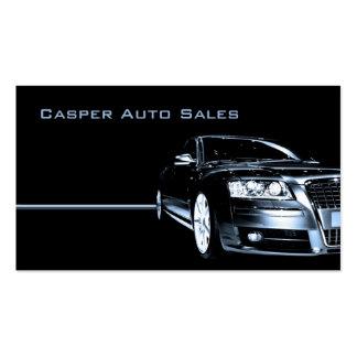 Concesionario de coches usado tarjetas de negocios