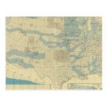 Concesiones de tierras y ferrocarriles tarjetas postales