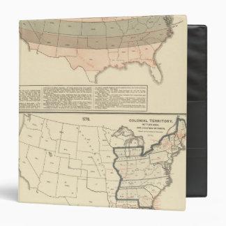 """Concesiones originales de 1776 áreas establecidas carpeta 1 1/2"""""""