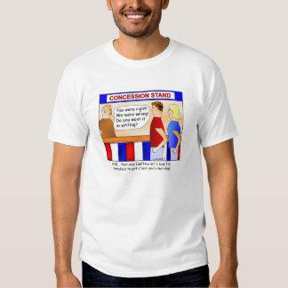 Concession Stand Cartoon T-shirt