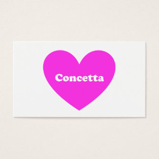 Concetta Business Card