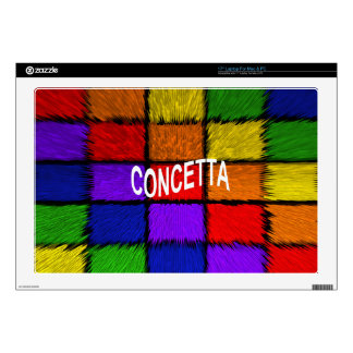 """CONCETTA DECALS FOR 17"""" LAPTOPS"""