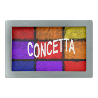 CONCETTA RECTANGULAR BELT BUCKLE