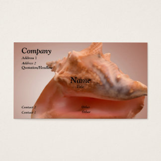 Conch Business Card