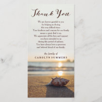 Conch on Beach | Sympathy Thank You